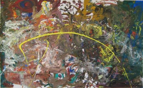 Vienna 2013, 150 x 100 cm, Acryl